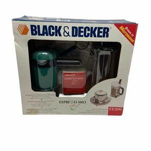 Black & Decker Espresso Mio EE200 Microwave Kit